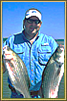 Oklahoma fishing reports from Oklahoma fishing guide Larry Wine.